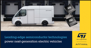 STMicroelectronics Cooperates with Arrival to Provide Leading-Edge Technologies for Next-Generation Electric Vehicles