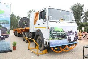 Tata Steel pioneers the deployment of EV for transportation of finished steel