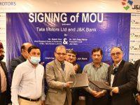 Good News for CV Customers, Tata has signed MoU J&K Bank