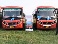 BharatBenz Delivers 20 Units of BharatBenz 1017 buses in Begusarai, Bihar.