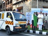 Hero MotoCorp provides 13 Advanced Life Support Ambulances To Uttarakhand